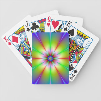 Flower Fractal Playing Cards