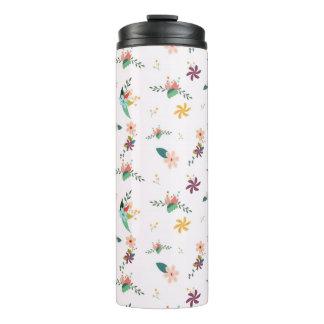 Flower Garden Beverage Tumbler