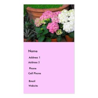 Flower Garden Business Card Templates