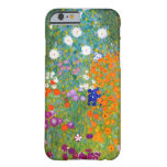 Flower Garden by Gustav Klimt Vintage Floral Barely There iPhone 6 Case