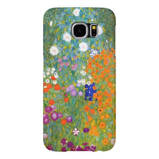 Flower Garden by Gustav Klimt Vintage Floral Samsung