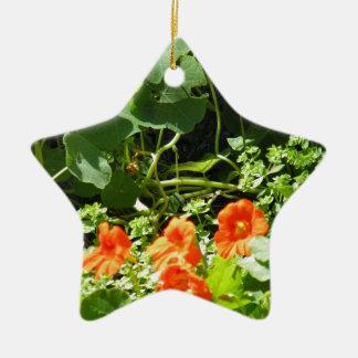 Flower Garden Christmas Ornament