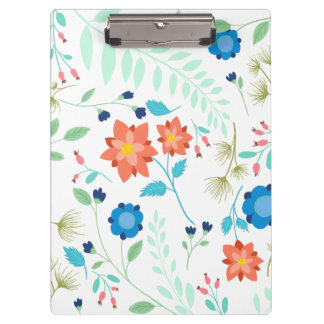 Flower Garden Clipboard