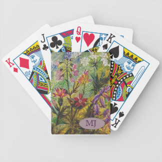 Flower Garden Detail Bicycle Playing Cards