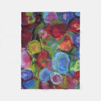 Flower Garden Fleece Blanket