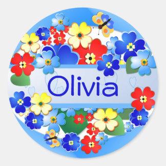 Flower Garden Gift Sticker