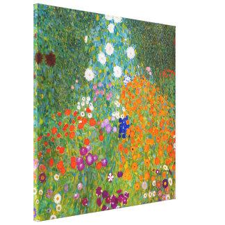 Flower Garden | Gustav Klimt Canvas Print