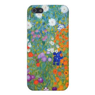 Flower Garden, Gustav Klimt iPhone 5/5S Case