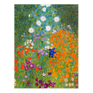 Flower Garden | Gustav Klimt Postcard