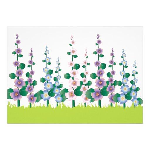 Flower Garden Mother's Day Invitation