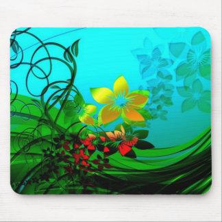 flower garden mouse mat