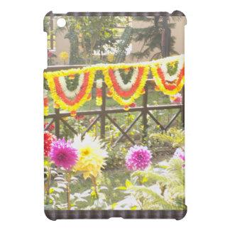 Flower Garden n garland decorations at SurajKund iPad Mini Covers