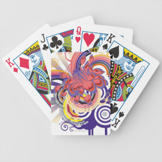 Flower Garden Pattern Bicycle Playing Cards