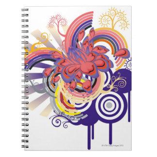 Flower Garden Pattern Notebook