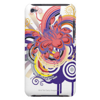 Flower Garden Pern Barely There iPod Cases