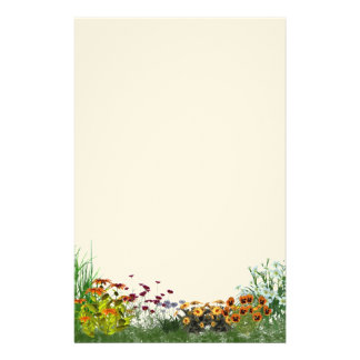Flower Garden Stationery