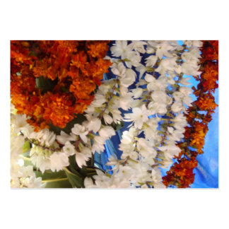 Flower Garlands India Pack Of Chubby Business Cards