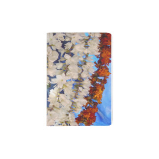 Flower Garlands India Passport Holder