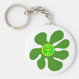 Flower GBA Logo On A Key Chain