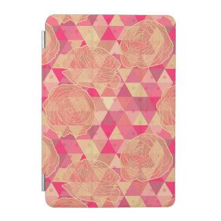 Flower geometrical pattern iPad mini cover