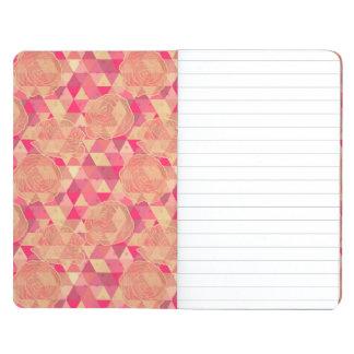 Flower geometrical pattern journal