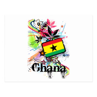 Flower Ghana Postcard