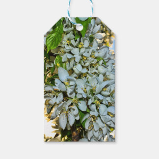 Flower gift tag