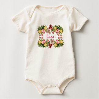 Flower Girl Baby Bodysuit