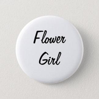 Flower Girl Badge