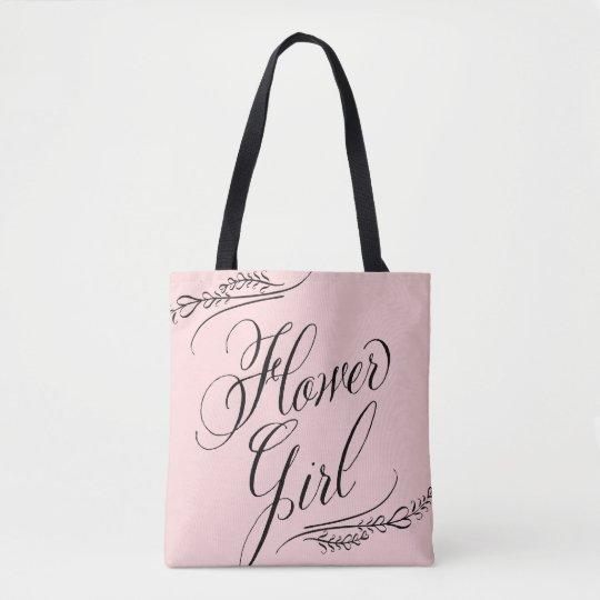 Flower Girl Bag Custom Colour All Over Tote