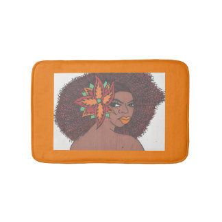 Flower Girl Bath Mats