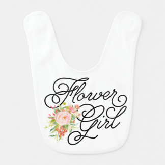 Flower Girl Bib | Bridesmaid