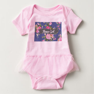 Flower Girl Body Suit Baby Bodysuit