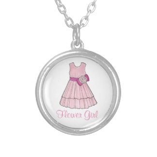 Flower Girl Bridal Wedding Party Dress Necklace