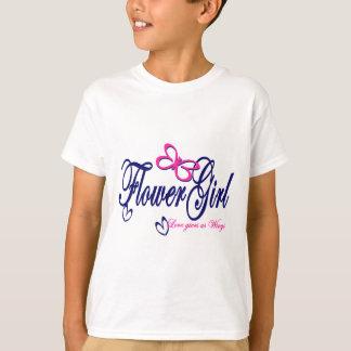 Flower Girl /Butterfly T-Shirt
