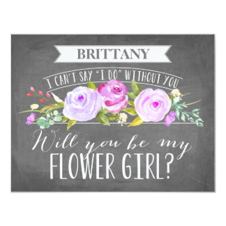 Flower Girl Card | Bridesmaid