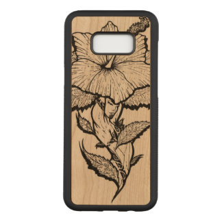 Flower Girl Carved Samsung Galaxy S8+ Case