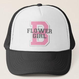 Flower Girl Cheer Trucker Hat
