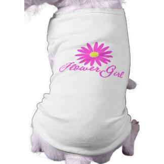 Flower Girl Daisy/ Pink Shirt