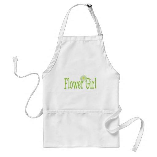 Flower girl/ Daisy theme Apron