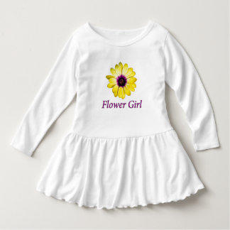 Flower Girl Daisy Wedding Infant Dress