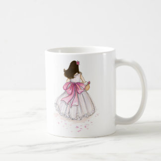 Flower Girl? Dark Brunette Mug