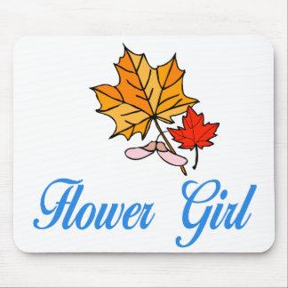 Flower Girl - fall Mouse Mats