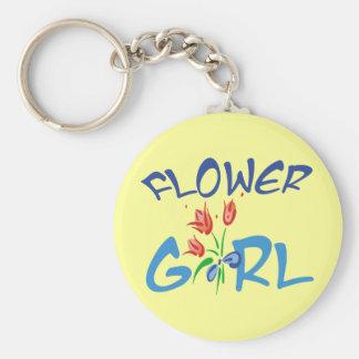 Flower Girl Favors Key Chain