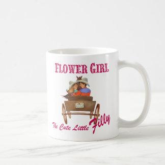 Flower Girl Gift, Coffee Mug Wedding Party gift