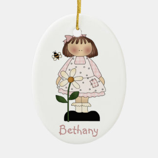 Flower Girl Gift Ornament