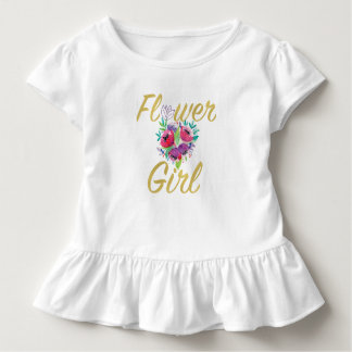 Flower Girl Gift T-shirt