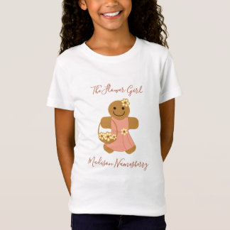 Flower Girl Gingerbread | Girls tshirt
