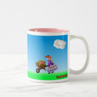Flower Girl Going Home Mugs