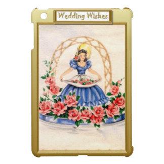 Flower girl in blue iPad mini case